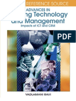 Advances in Banking Technology and Management Impacts of ICT and CRM Premier Reference Source - Copy