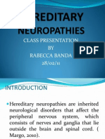 HEREDOTARY NEUROPATHIES