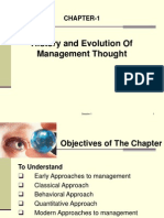 Chapter-1-History and Evolution of Management Thought