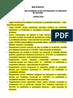 Bibliografie tie Examen Ds 2011
