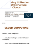 Improving Utilization of Infrastructure Clouds Slide 1st Review