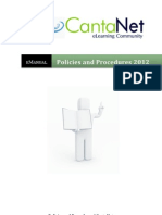 Policies and Procedures 2012