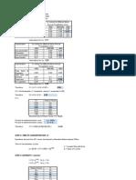 Drainage Calculation