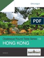 Opalesque 2010 Hong Kong Roundtable
