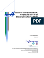 An Index of Good Envl Governance