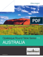 Opalesque 2011 Australia Round Table