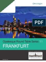 Opalesque Frankfurt Roundtable