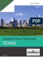 Opalesque 2011 Texas Roundtable