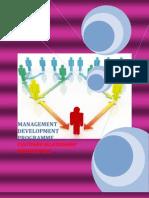 Management Development  Programme - Customer Relationship Management (CRM)