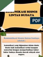 Komuniksi Bisnis Lintas Budaya 1