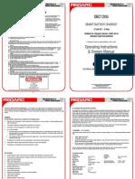SBC1205 Instruction Manual A5 5