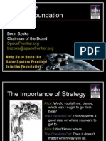 """""""The Importance of Space Strategy"""""""