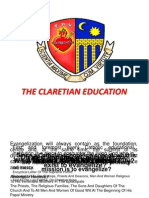 Orientation Claretian Education 2011-12
