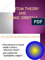 Quantum Theory and Atomic Orbitals