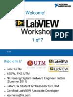LabVIEW Proficiency Workshop 1