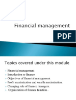 Financial Management Mod 1