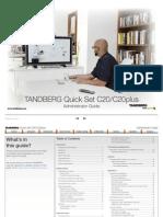 TANDBERG Quick Set C20-C20plus Administrator Guide (TC2.0)