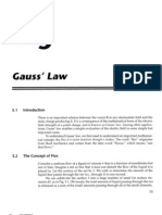 Chapter 5 - Gauss Law