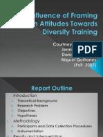 The Influence of Framing on Attitudes Towards Diversity