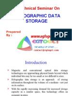 52465460 Holographic Data Storage