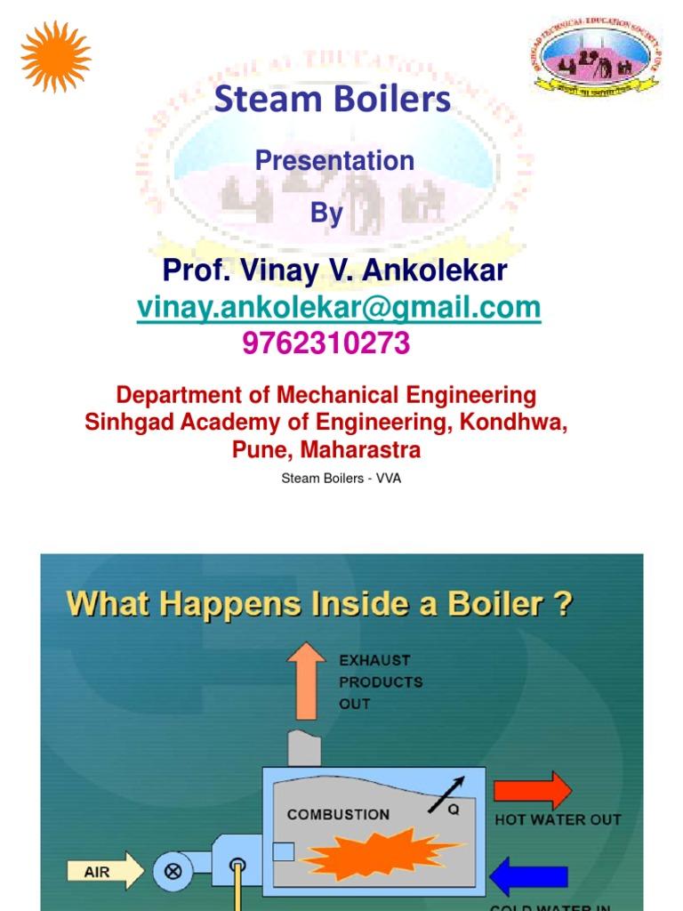Steam Boilers - VVA | Boiler | Steam Engine