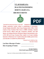 MBBR Tender Document and BOQs_Haryana Govt