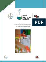 Bayer Genç Bilim Elçileri - Ara Rapor