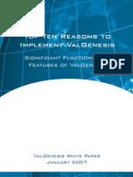ValGenesis - Top 10 Reasons