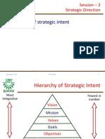 S2 Strategic Direction