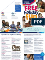 Easter Holidays 2012 FREE Family Fun Flyer