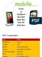 HTC MOBILE Marketing-full n Final Ppt