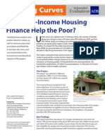 Does Low-Income Housing Finance Help the Poor?