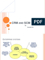 SCM and CRM by anusha pai
