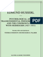 63796381 Phi Husserl Phenomenology