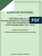 63796381 Phi Husserl Phenomenology