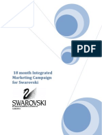 18 Month Integrated Marketing Campaign for Swarovski