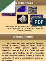 Presentación Los minerales Todos