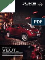 Nissan Juke French Brochure