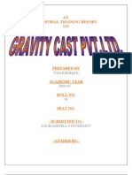 Gravity Project Report-Prince Dudhatra