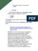 1 Resultado Destacado Para Codigo Civil Venezolano Comentado Concord Ado