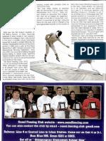 Groove Magazine Nov 2008 - Seoul Fencing Club Article