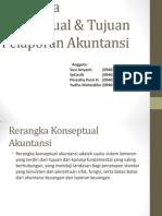 Rerangka Konseptual & Tujuan Pelaporan Akuntansi