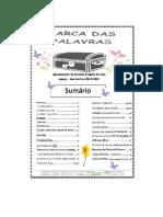 Jornal Arca das Palavras - 2º semestre