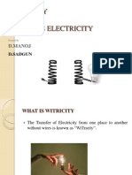 Wireless-Electricity PPT(Sai Rajesh)
