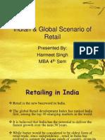 Indian & Global Scenario- Retailing