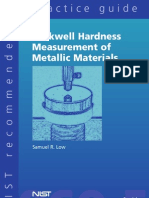 Rockwell Hardness of Materials