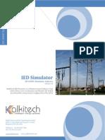 IED Simulator Data Sheet