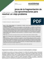 Efectos Biolog de La Fragmentacion