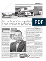 Reportaje Lumar en Dossier rial