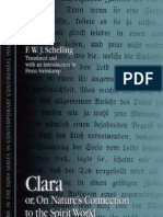 Schelling - Clara ~ or, On Natures Connection to the Spirit World
